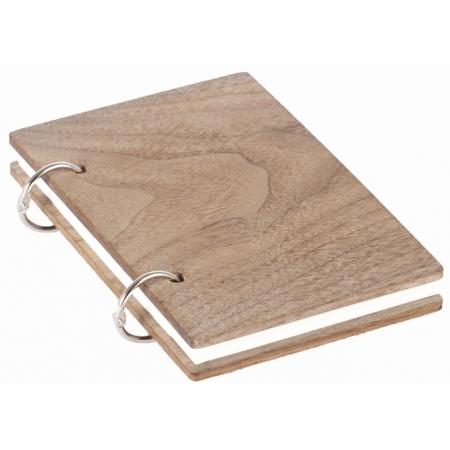 Деревянный блокнот A6 Walnut