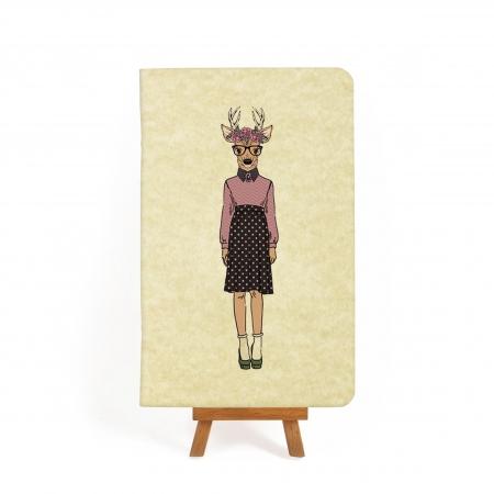 Блокнот дизайнерский Hipster Girls 2