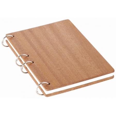 Деревянный блокнот А5 Sipo