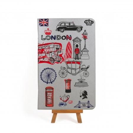 Блокнот дизайнерский London