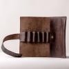 Пенал кожаный коричневый Pencil Box Leather
