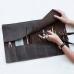 Кожаный пенал для ручек Pencil Case Premium кожаный купить по лучшей цене