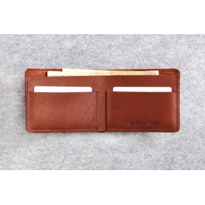 Кожаный кошелек Bro Wallet Elegant Brown