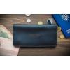 Кожаный бумажник ручной работы Neat Dark Green