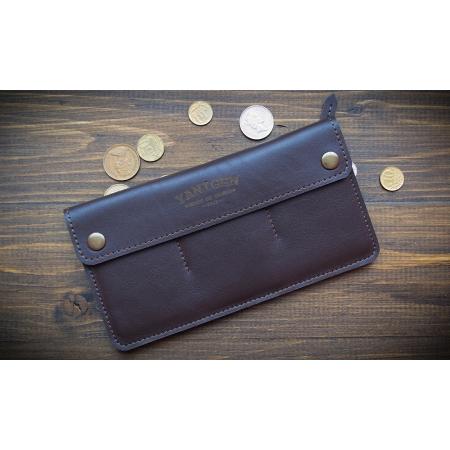 Кожаный бумажник ручной работы Wide Brown купить по лучшей цене