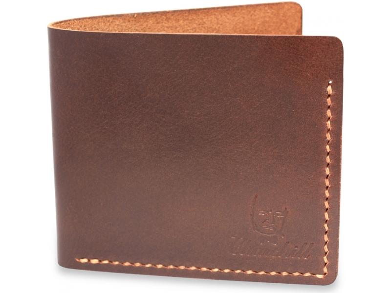 12203aec7e14 Мужской кожаный кошелек ручной работы Churchill Brown купить по лучшей цене