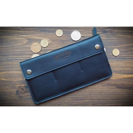 Кожаный бумажний ручной работы Wide Black купить по лучшей цене