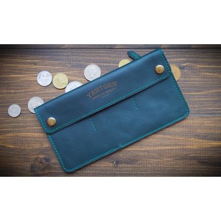 Бумажник Wide Green