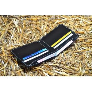 Кожаный мужской кошелек ручной работы Bro Wallet Elite