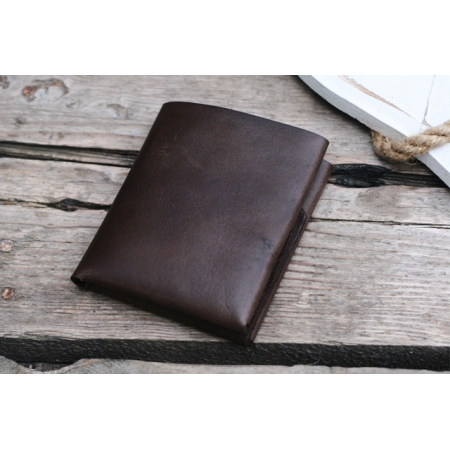 CLIFF BUBBLE WALLET, CHOCOLATE