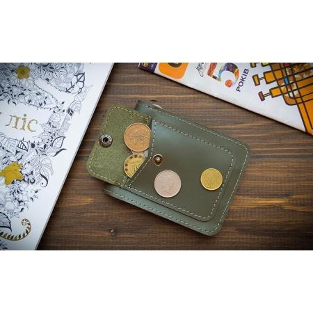 Бумажник Fold Khaki 2