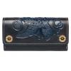Кожаный кошелек Alfa Turtle Blue