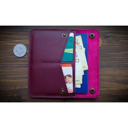 Бумажник Wide mini Bordeu