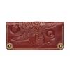 Женское кожаное портмоне ручной работы Turtle Brown