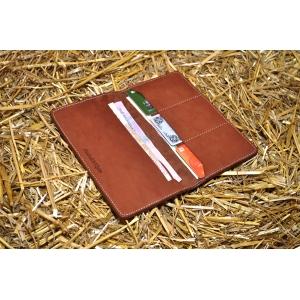 Кожаный портмоне ручной работы Bro Brown