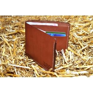 Мужское кожаное портмоне ручной работы Bro Wallet Elegant