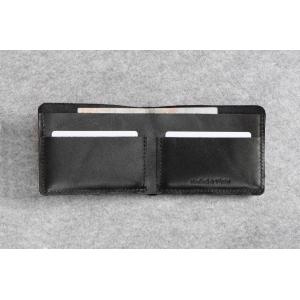 Кожаный кошелек Bro Wallet Elegant Black