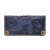 Женское кожаное портмоне ручной работы Turtle Blue