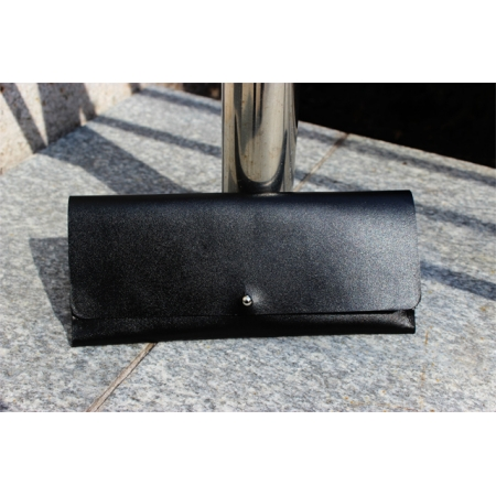 CLIFF COMPACT WALLET, BLACK