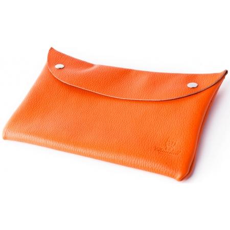 Клатч-конверт (оранжевый флотар)