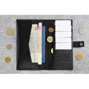 Кожаный кошелек Great BRO Black