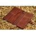 Кожаное портмоне ручной работы Great BRO-wallet Brown купить по лучшей цене