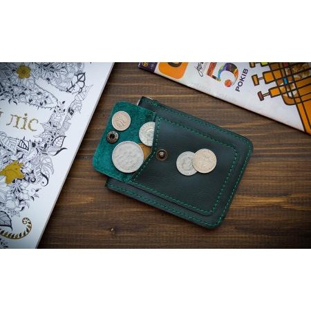 Бумажник Fold Green 2