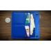 Бумажник Wide mini Blue