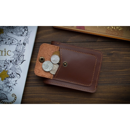 Бумажник Fold Light Brown 2