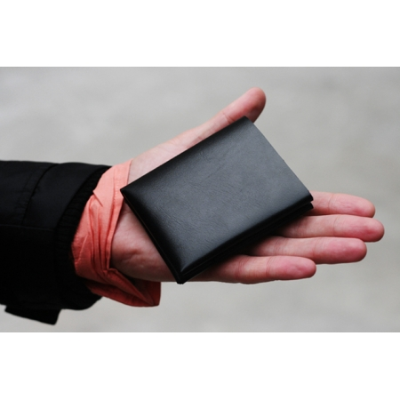 CLIFF BUBBLE WALLET, BLACK