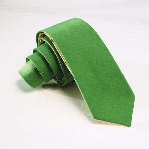 Галстук мужской зелёный AGA