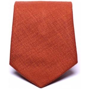 Галстук мужской оранжевый Pie