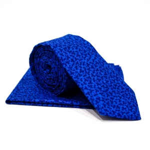 Комплект галстук и платок Azure