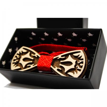 Галстук-бабочка деревянная Carving купить по лучшей цене