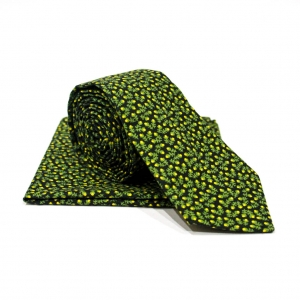 Комплект галстук и платок Vegetal