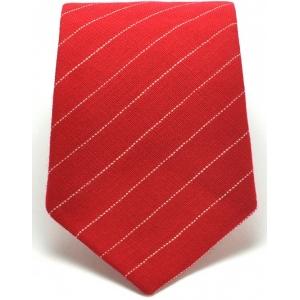 Галстук красный Red Stripes