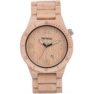 Часы деревянные WeWOOD Alpha Beige