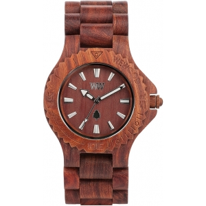 Деревянные часы WeWOOD Date Brown