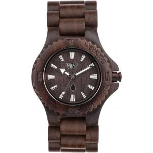 Деревянные часы WeWOOD Date Chocolate