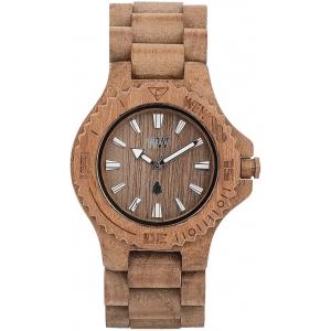 Деревянные часы WeWOOD Date Teak