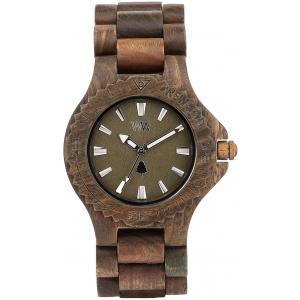 Деревянные часы WeWOOD Date Army