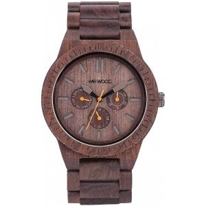 Деревянные часы WeWOOD Kappa Chocolate