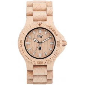 Деревянные часы WeWOOD Date Beige