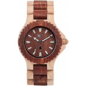Деревянные часы WeWOOD Date Beige Brown