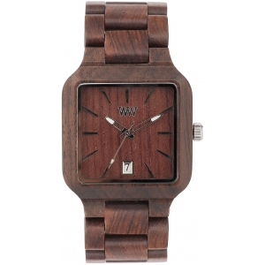 Деревянные часы WeWOOD Metis Chocolate