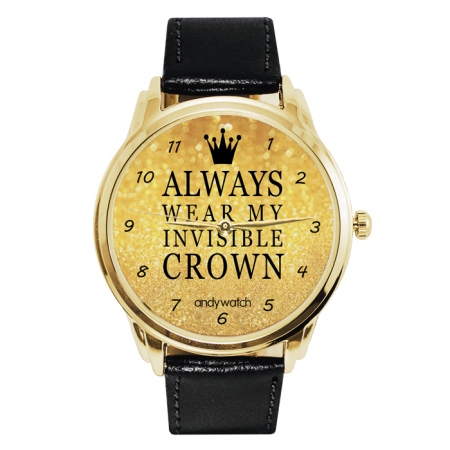 Always wear my invisible crown