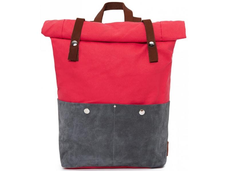 ce833f457d86 Молодежный рюкзак ручной работы Phestyn Rolltop Red купить по лучшей цене